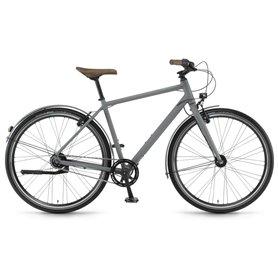 Winora Aruba Men 28 inch 2018/19/20/21 City bike grey matt frame size 46cm