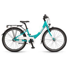 Winora Chica 24 inch RT 2019/20/21 Youth bike cyan matt frame size 32cm