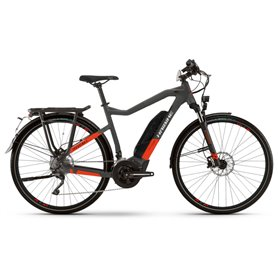 Haibike Trekking S 9 500Wh 2021 E-Bike Pedelec anthracite red RH 56cm