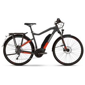 Haibike Trekking S 9 500Wh 2021 E-Bike Pedelec anthracite red RH 52cm