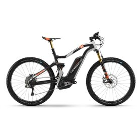 Haibike XDURO FullSeven Carbon 10.0 500Wh 2018 carbon silver frame size 45cm