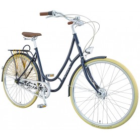 Viva city bike Juliett Classic women 28 inch 2019/20 dark blue frame size 52cm Special