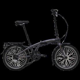 Hercules Versa 7 Folding bike 2020 20 inch anthracite matt frame size 29 cm