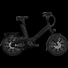 Hercules Futura Fold I-F8 E-Bike 2021 Unisex 20 inch black matt frame size 52cm