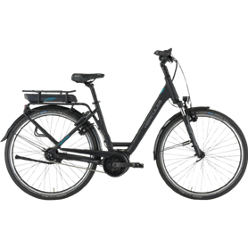 Hercules E-Imperial 180 S F5 E-Bike 2021 Women black matt frame size 64cm