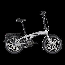 Hercules Versa F7 Belt folding bike 2021 20 inch silver matt frame size 29cm
