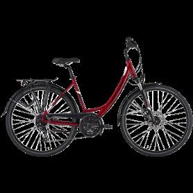Hercules Tourer Sport Trekking bike 2021 Women 28 inch dark red frame size 56cm
