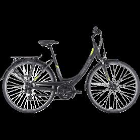 Hercules Tourer 21 Trekking bike 2021 Women 28 inch black matt frame size 51cm