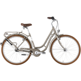 Hercules Viverty R7 City bike 2021 28 inch grey metallic shiny frame size 50cm