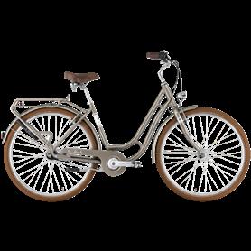 Hercules Viverty R7 City bike 2021 28 inch grey metallic shiny frame size 55cm
