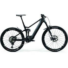 Merida eONE-SIXTY 9000 E-Bike Pedelec 2021 grau matt schwarz RH XS (40.5 cm)