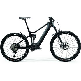 Merida eONE-SIXTY 9000 E-Bike Pedelec 2021 grau matt schwarz RH S (42 cm)