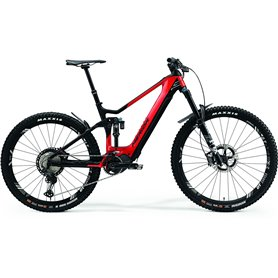 Merida eONE-SIXTY 9000 E-Bike Pedelec 2021 red black frame size XS (40.5 cm)