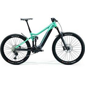 Merida eONE-SIXTY 700 E-Bike 2021 turquoise dark silver frame size L (45 cm)