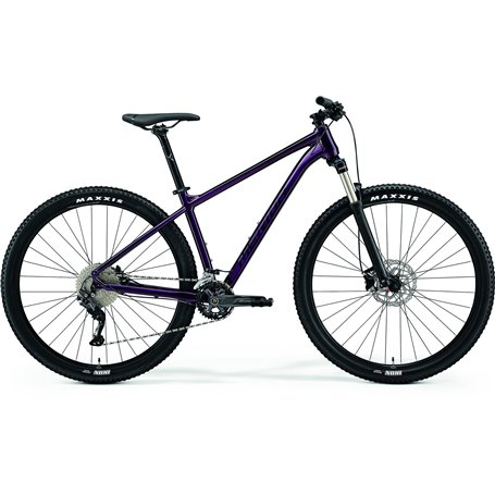 Merida BIG.NINE 300 MTB 2021 purple black frame size XL (20 inch)