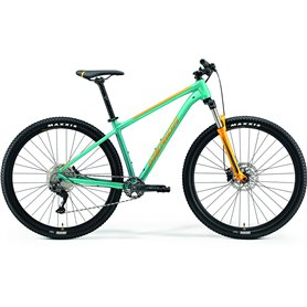 Merida BIG.NINE 200 MTB 2021 turquoise orange frame size S (14.5 inch)