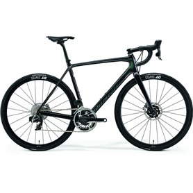 Merida SCULTURA 9000-E Road bike 2021 black green frame size S (50 cm)