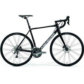 Merida SCULTURA 300 Road bike 2021 black silver frame size XS (47 cm)
