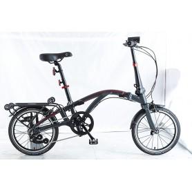 Dahon Folding bike Curl i4 V.1 16 inch 2019 anthracite