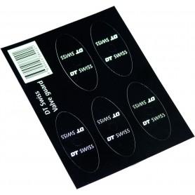 DT Swiss Aufkleber Ventilschutz schwarz 5 Stück