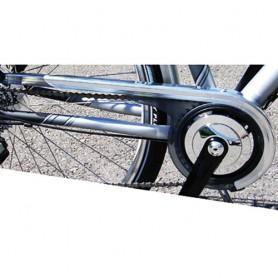 Horn Chainguard 3 gear Catena 09 38 Teeth, Aluminium untreated