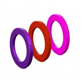 Magura Blenden-Ring Kit für Bremszange, 4 Kolben Zange, ab MJ2015 (purple, rot, pink) (VE   12 Stück)