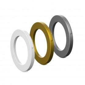 Magura Blenden-Ring Kit für Bremszange, 4 Kolben Zange, ab MJ2015 (weiß, gold, silber) (VE   12 Stück)