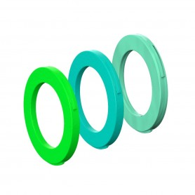 Magura Blenden-Ring Kit für Bremszange2 ab 2015 grün cyan mintgrün 6 Stück