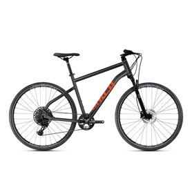 Ghost Square Cross Essential AL U Cross Bike 2021 black orange Größe S (47 cm)