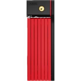 Abus Faltschloss uGrip BORDO 5700 SH schwarz/rot 100 cm
