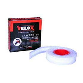 Velox Schlauchreifen Klebeband Velox Jantex 14 18mm breit 2.05m lang 1Laufrad