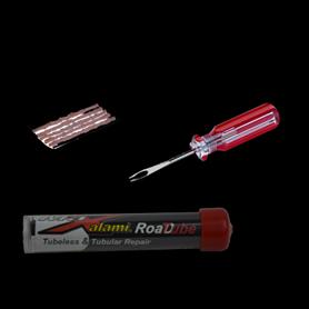 MaXalami Road Tube Reparatur Set schlauchlose Reifen Werkzeug + 5 Flickstreifen