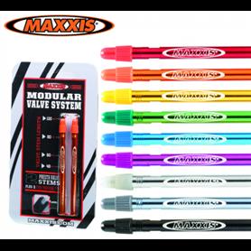 Maxxis MVS Ventile 48mm orange 2er-Set