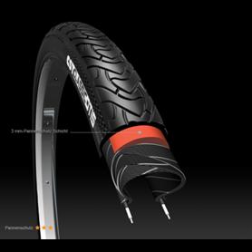 CST Reifen Otis C1777 37-622 700x35C AntiPuncture 3mm Reflex