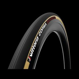 Vittoria Schlauchreifen Corsa 4C Graphene2.0 28 Zoll 25mm schwarz transparent