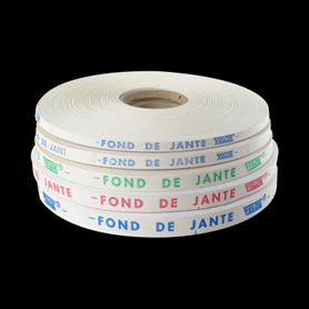 Velox Felgenband Leinenband weiss 22 mm breit 100m lang