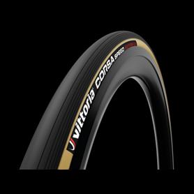 Vittoria Schlauchreifen Corsa Speed 1C Graphene2.0 28 Zoll 23mm schwarz transp.