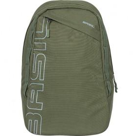Basil Rucksack Flex Backpack 17 Liter 33x17x52cm waldgrün