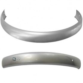 "Büchel Mudguards 28"" Steel silver, W 55 mm without stays"