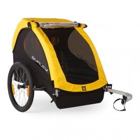 Burley Fahrrad-Kinder-Anhänger RentalCub gelb