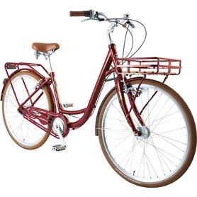 BBF City bike Brügge 2021 bordeaux frame size 45 cm