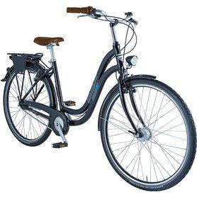 BBF City bike Kiel 2021 black frame size 55 cm