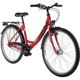 BBF Youth bike ATB Outrider 2021 Women red frame size 38 cm