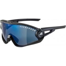Alpina Sonnenbrille 5W1NG CM+ Rahmen black blur Glas blue mir