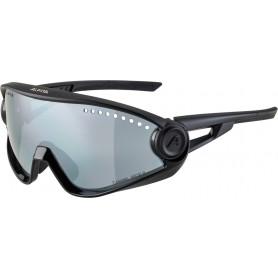 Alpina Sonnenbrille 5W1NG CM+ Rahmen all black Glas black mir