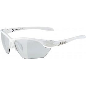 Alpina Sonnenbrille Five HR S VL+ Rahmen white Glas black