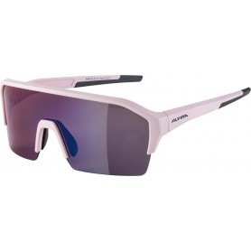 Sonnenbrille Alpina Ram HR HM+ Rahmen light rose matt Glas blue mirror