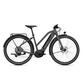 Ghost E-Square Travel B4.7+ AL W E-Bike 2021 uni rock jet black size M (50 cm)