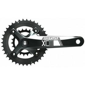 KRG SR-Suntour CW15 XCM-D 38/24 T. black, 175mm, Octalink SOPO