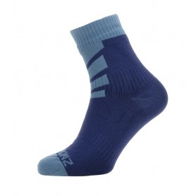SealSkinz Warm Weather Ankle Socken wasserdicht Gr. L 43 - 46 navy blau